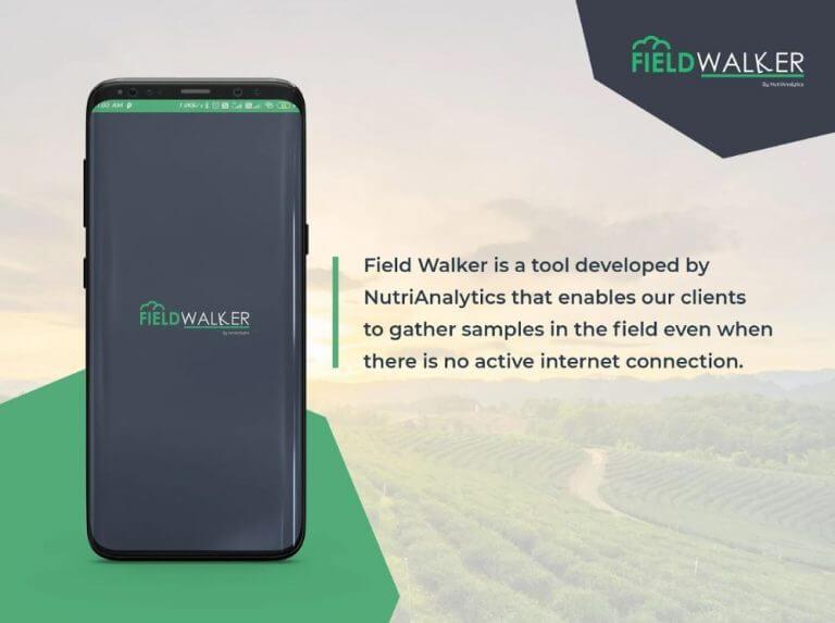 NutriAg launches Field Walker™ App to enhance their NutriAnalytics™ platform.